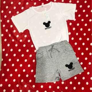 Kid Mickey 2pc set