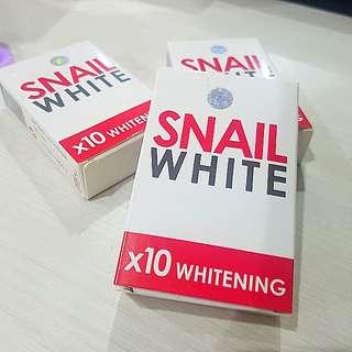 Snail white soap bar