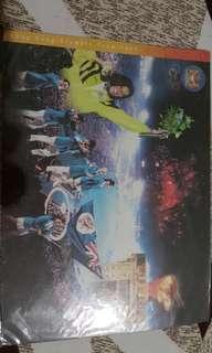 96年100周年奧運香港隊明信片