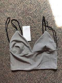 Bnwt Zara Crop top size medium