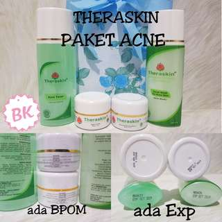 ( Paket Acne ) Theraskin Original BPOM