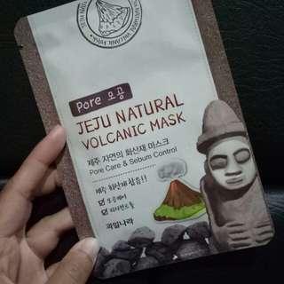 Jeju Natural  Volcanic Mask