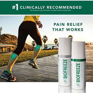 Direct from US! Biofreeze Pain Relief Gel for Arthritis, Fast Acting Cooling Pain, Cold Topical Analgesic, Reliever for Muscle, Joint, and Back Pain, Original Green Formula. Limited Stocks!