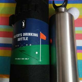 Brand New stainless steel water bottle for golf