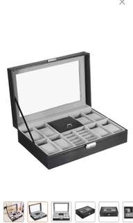 Watch Case 8 slots and Jewellery box