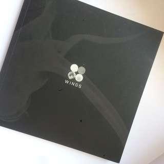 BTS 'Wings' Photocards Included (Jimin, V, Jin)