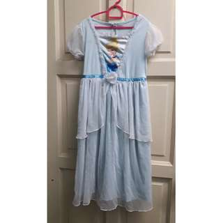 Princess Cinderella Long Dress 5-6y