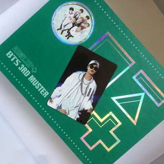 ARMY+ZIP+ BTS 3RD MUSTER All Included, Photocard (Jimin)