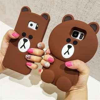 Brown Bear Phone Casing