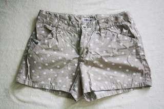 Cherokee Polka Dots Brown shorts