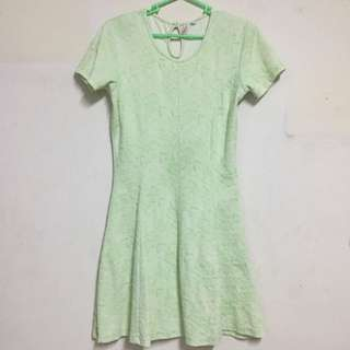 Skater Dress - Mint Green