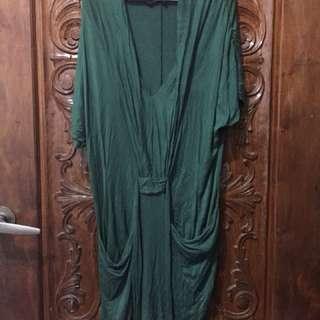 Folded & Hung drape dress