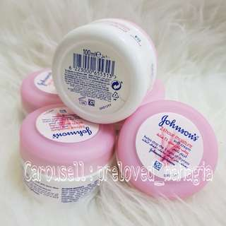 Johnson's 24 hours moisture soft cream 100ml. Johnson's lotion asli Jeddah