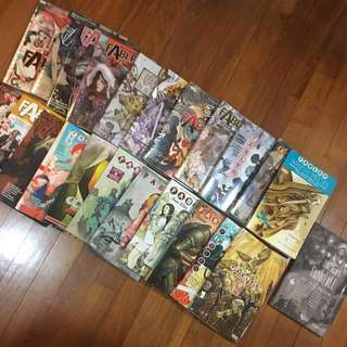 Fables - Full 22 Volume Set, plus free gift (1001 Nights of Snowfall)
