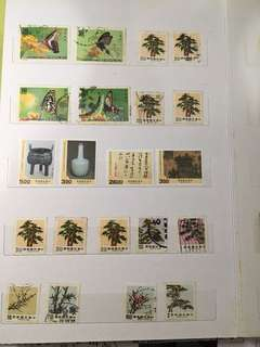 🚚 《老哥的集郵歲月》歷史郵票共21張(故宮博物院建院70年)