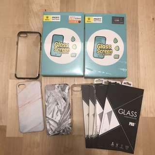iPhone 7 4.7incb Case , mon貼 ,屏幕貼,電話殼