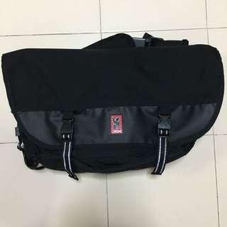 Chrome industries Citizen messenger bag BLACK/black buckle RARE
