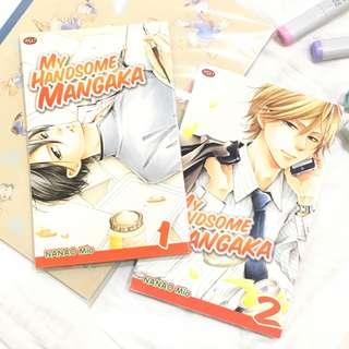 Komik My Handsome Mangaka jilid 1&2