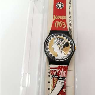 Original Swatch 1994 Aiglette Ravage Group Josephine New With Box And Paper