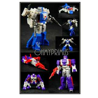 <Price Reduction> Unique Toys Palm Collection UT YM04 YM-04 No Minds & Unhappy - Transformers Legends Scale Headmaster Highbrow & Apeface