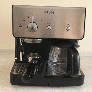 KRUPS Coffee Maker and Espresso Machine Combination