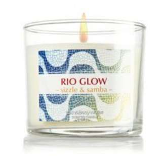 BBW Candle RIO GLOW sizzle and samba (Limited Edition)