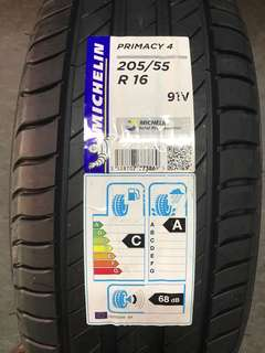 205/55R16 Michelin Primacy 4 (Latest Model)