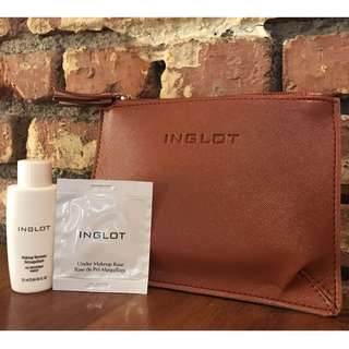Inglot makeup remover & pouch