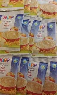 Hipp oat apple 蘋果燕麥米糊(10包)