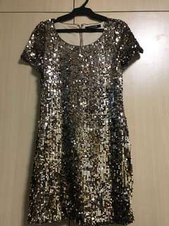 Forever 21 Sequined Dress