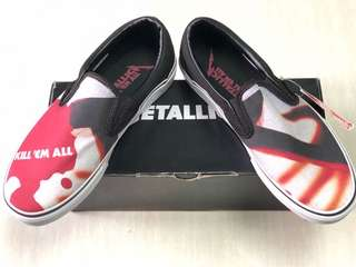 Vans Metallica slip on