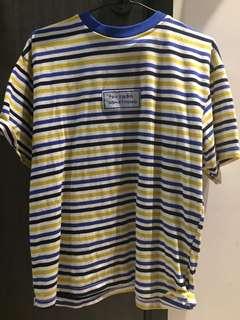 Stripped Colour Tee Shirt
