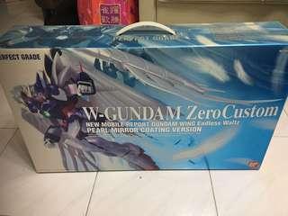 高達模型 (限量版🦕)W-GUNDAM Zero Custom New Mobile Report Gundam Wing Endless Waltz PEARL MIRROR COATING VERSION (PERFECT GRADE)
