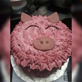 Pig cake / animal cake