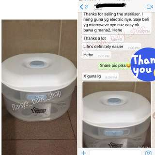 customer feedback tommee tippee