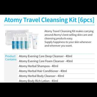 Cleansing travel kit ✌️