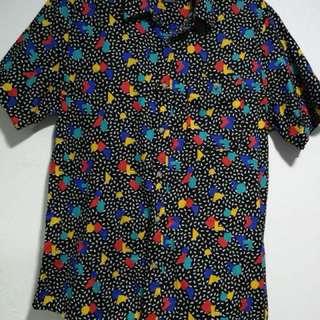 Topman Black Short Sleeve Shirt
