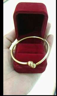 10k bangle (unfaded)