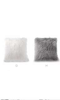 Fluffy fur cushion cover(price for each)