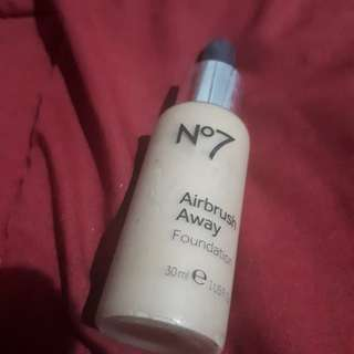Boots no 7 airbrush away foundation