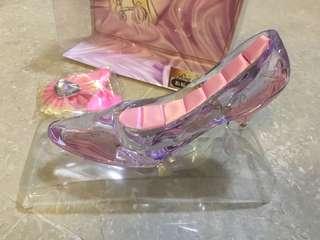 全新日本直送迪士尼公主玻璃鞋一隻