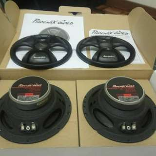 Car Speaker, Phoenix Gold 2 ways component