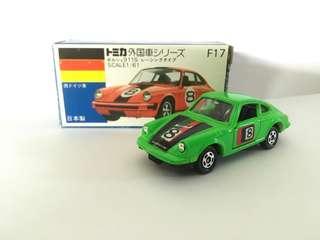 Tomica F17 Porsche 911S Racing Type 保時捷 綠色