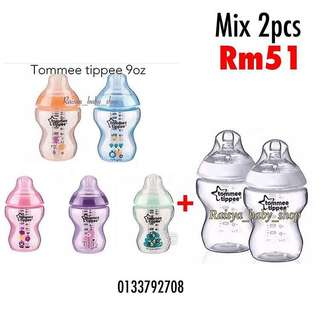Tommee tippee 9oz x 2