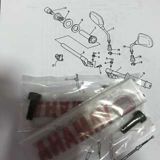 Rxz handle screw No.4