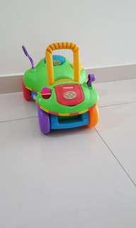 Playskool Walker & Ride On Car for Baby Toddler