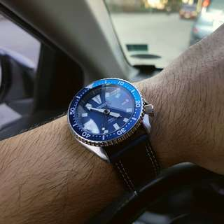 Seiko Blue Lagoon Mod Automatic Movement 7002-1000