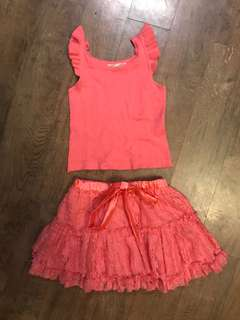 Tarte Tatin Top and Tutu Set (for 12-18 months)