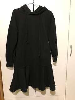 🚚 黑色魚尾裙 洋裝 連身洋裝