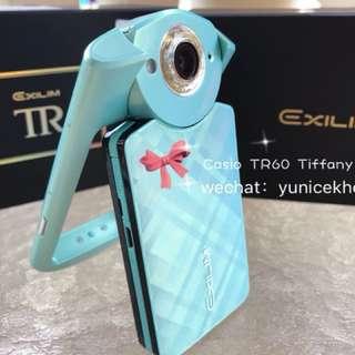Casio Exilim TR60 tiffany blue [Original Full Set]